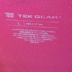 tek gear Jackets & Coats - Pink hooded lightweight jacket